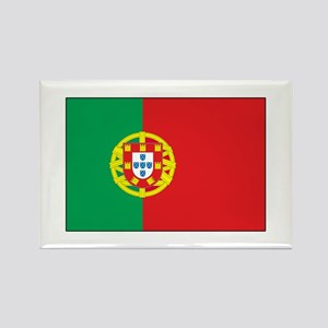 The Flag of Portugal Rectangle Magnet