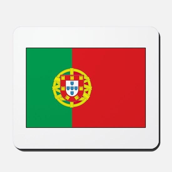 The Flag of Portugal Mousepad
