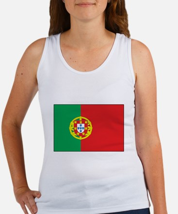 The Flag of Portugal Women's Tank Top
