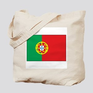 The Flag of Portugal Tote Bag