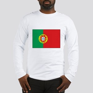 The Flag of Portugal Long Sleeve T-Shirt