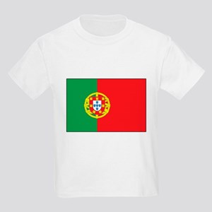 The Flag of Portugal Kids T-Shirt