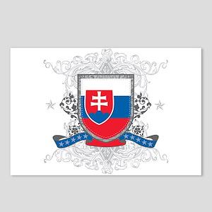 Slovakia Shield Postcards (Package of 8)