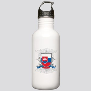 Slovakia Shield Stainless Water Bottle 1.0L