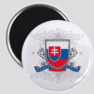 Slovakia Shield Magnet