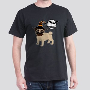 Bewitched Fawn Pug Dark T-Shirt