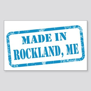 MADE IN ROCKLAND Sticker (Rectangle)