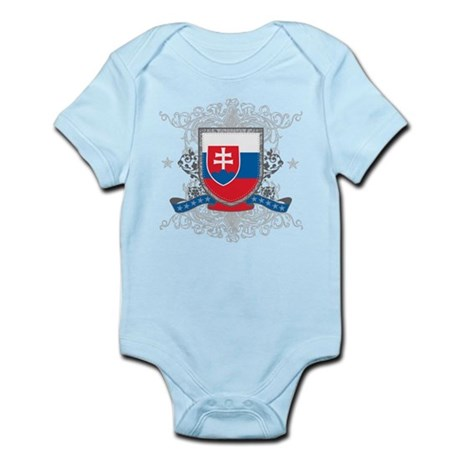 Slovakia Shield Infant Bodysuit
