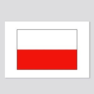 Three Cheers for Poland Postcards (Package of 8)