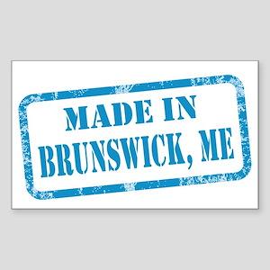 MADE IN BRUNSWICK Sticker (Rectangle)