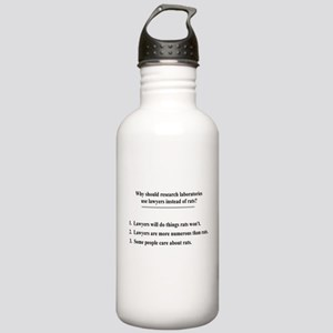 lawyers and lab rats Stainless Water Bottle 1.0L