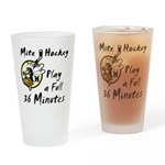 36 Minutes Drinking Glass