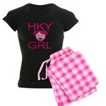 HKY GRL Women's Dark Pajamas