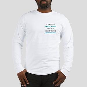 Cruisaholic (Personalized) Long Sleeve T-Shirt