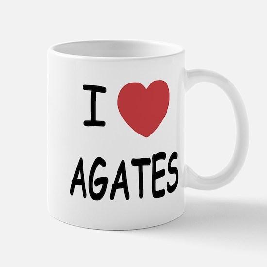 I heart agates Mug