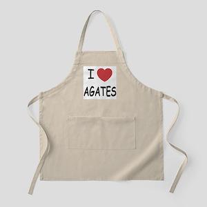 I heart agates Apron