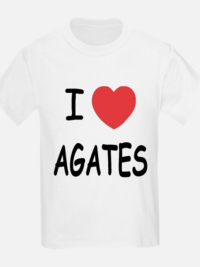 I heart agates T-Shirt