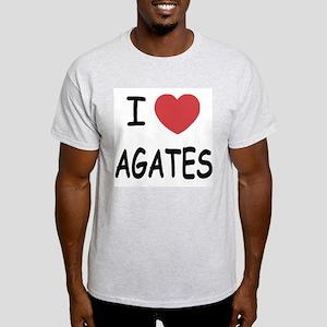 I heart agates Light T-Shirt