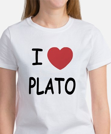 I heart plato Women's T-Shirt