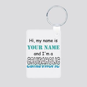 Cruisaholic (Personalized) Aluminum Photo Keychain