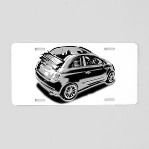 500c Aluminum License Plate