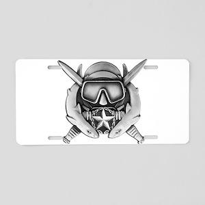Dive Supe Aluminum License Plate