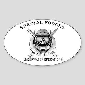 Combat Diver w/sfuwo Sticker (Oval)