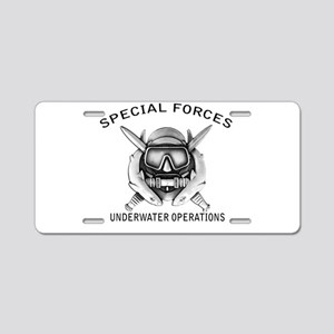 Combat Diver w/sfuwo Aluminum License Plate