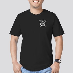 Dive Supe w/ sfuwo Men's Fitted T-Shirt (dark)