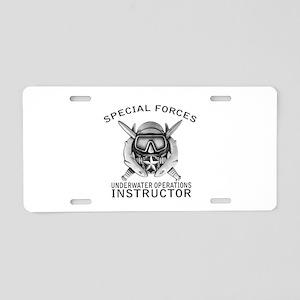 SFUWO Instructor Aluminum License Plate