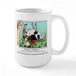 Ferret-cow Large Mug