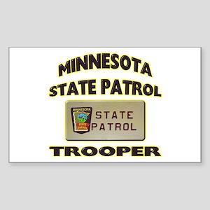 Minnesota State Patrol Sticker (Rectangle)
