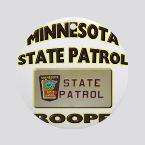 Minnesota State Patrol Ornament (Round)