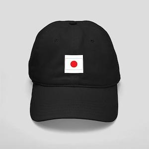 Rising Sun Flag of Japan Black Cap