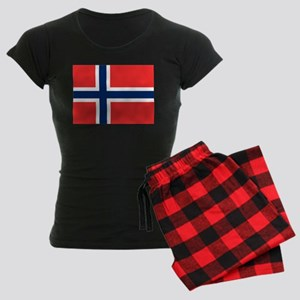 Flag of Norway Women's Dark Pajamas