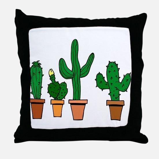 Cactus2007 Throw Pillow
