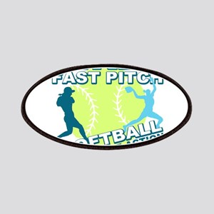 Girls Softball Patches