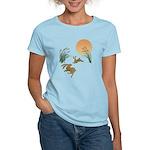Moon, japanese pampas grass Women's Light T-Shirt