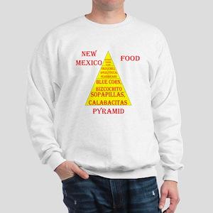 New Mexico Food Pyramid Sweatshirt
