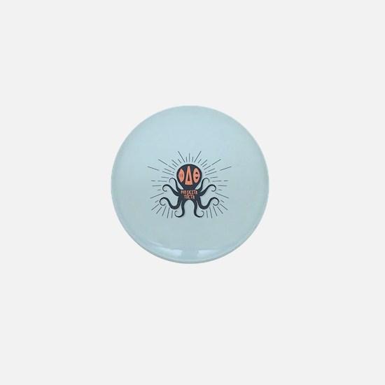 Phi Delta Theta Octopus Mini Button