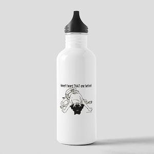 Mastiff Haven't Heard Stainless Water Bottle 1.0L