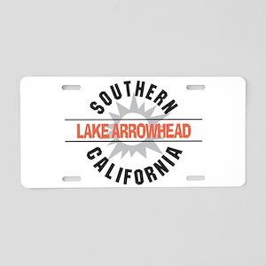 Lake Arrowhead California Aluminum License Plate