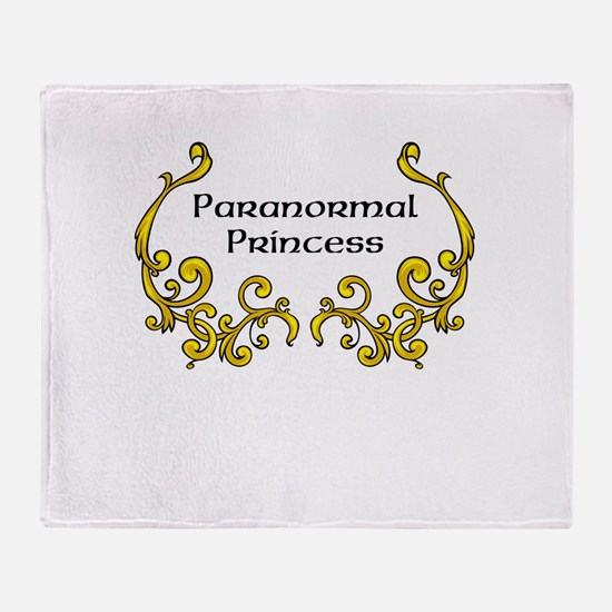 Paranormal Princess Throw Blanket