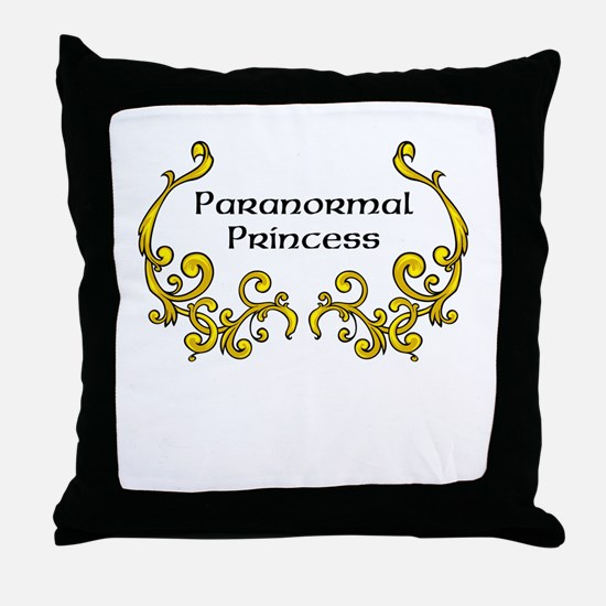 Paranormal Princess Throw Pillow