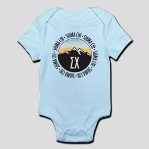 Sigma Chi Mountains Sunset Infant Bodysuit