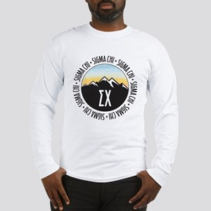 Sigma Chi Mountains Sunset Long Sleeve T-Shirt