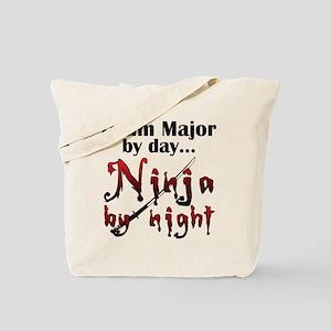 Drum Major Ninja Tote Bag