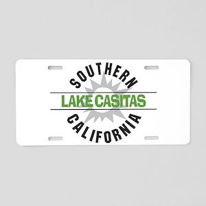 Lake Casitas California Aluminum License Plate
