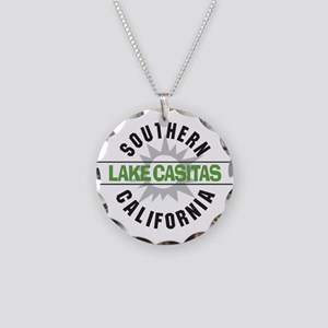Lake Casitas California Necklace Circle Charm