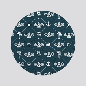 Phi Delta Theta Pattern Blue Button